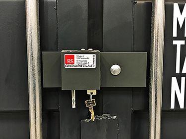 MAVAKO 3600C locking system
